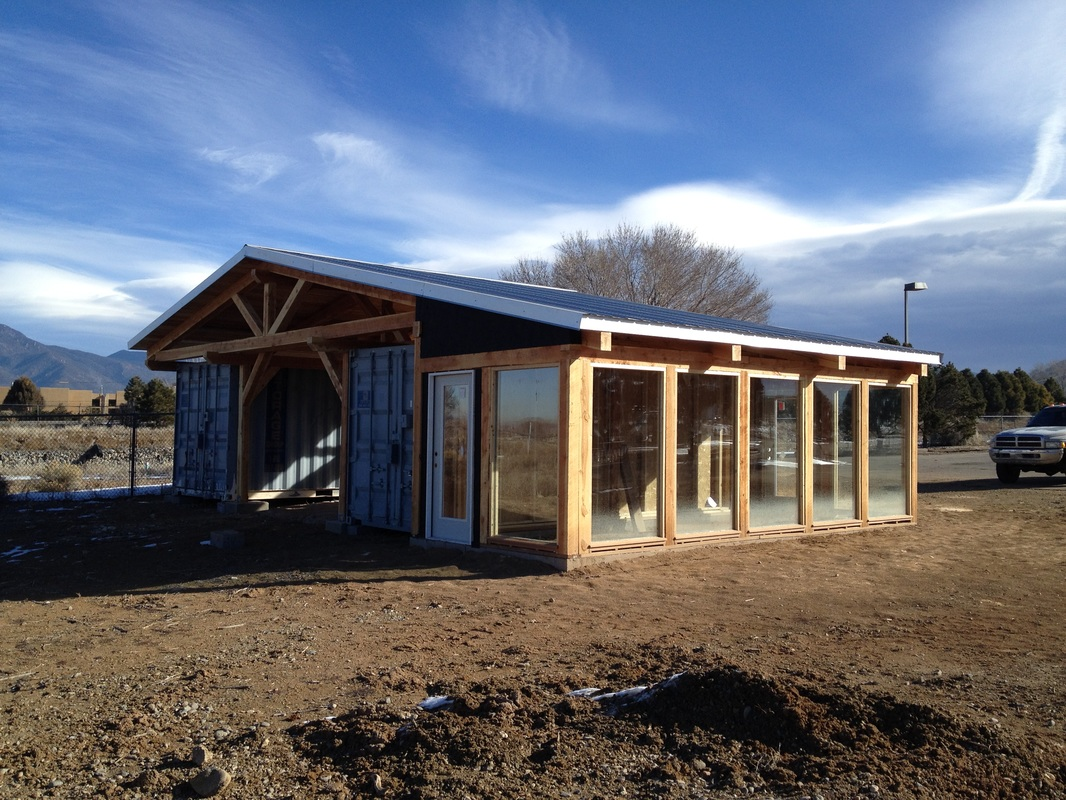 Shipping Container Woodshop Southwest Sustainable Builders